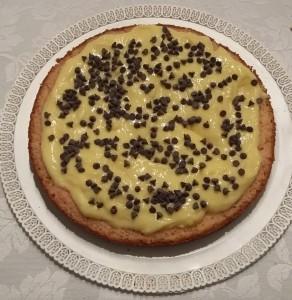farcia crema e gocce di cioccolato