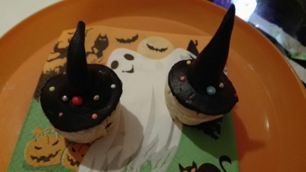 muffin bimby con cappello in pasta di zucchero