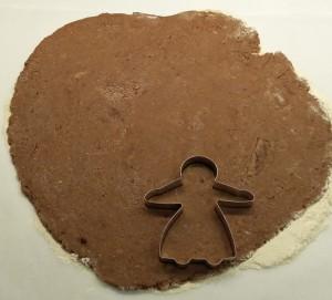 taglia biscotto a forma di bambolina