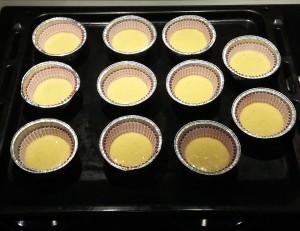 cupcake alle nocciole da cuocere