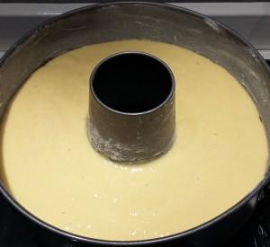 ciambella all'anice e miele da cuocere